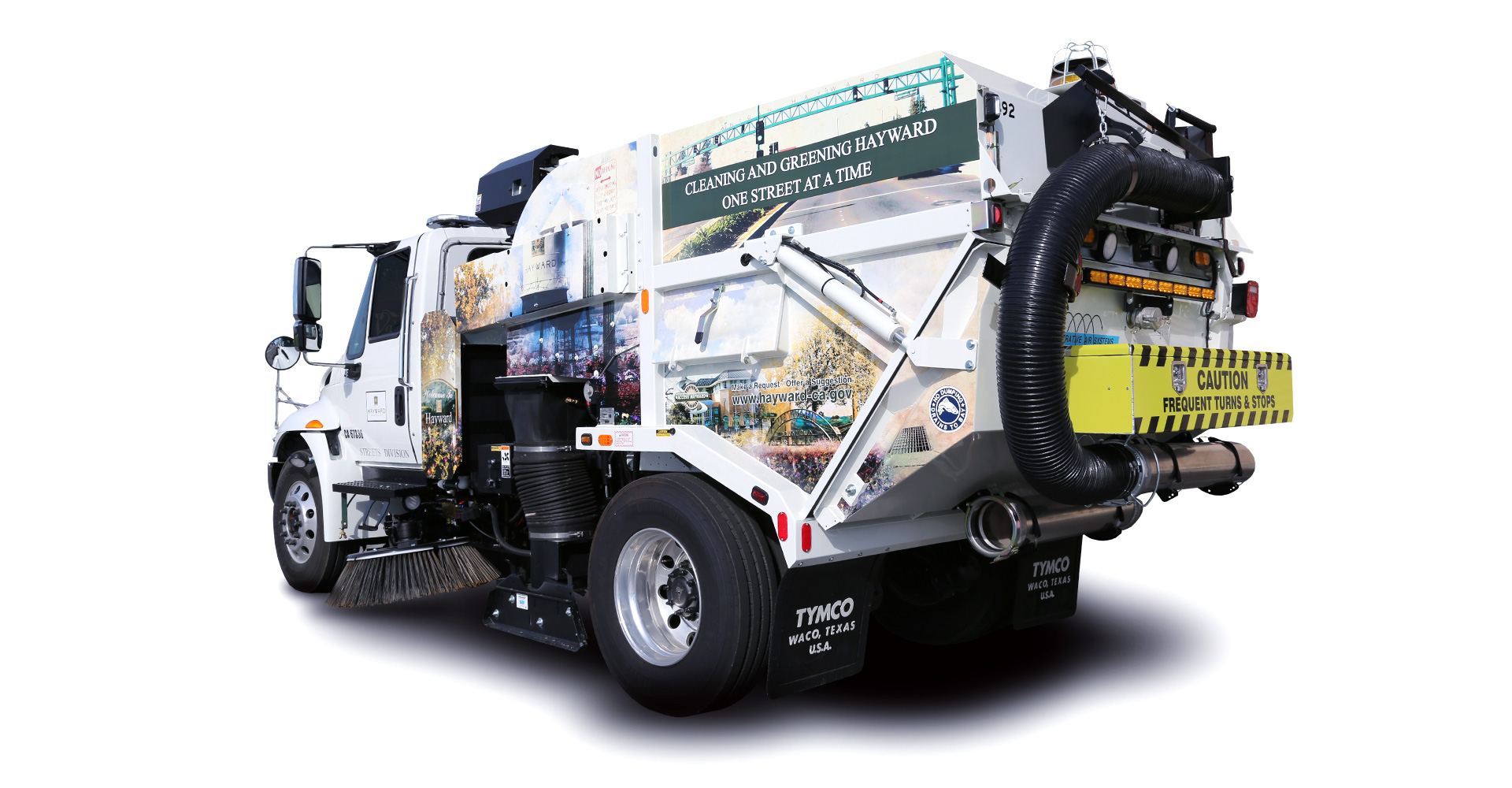 city of hayward street sweeper b 06