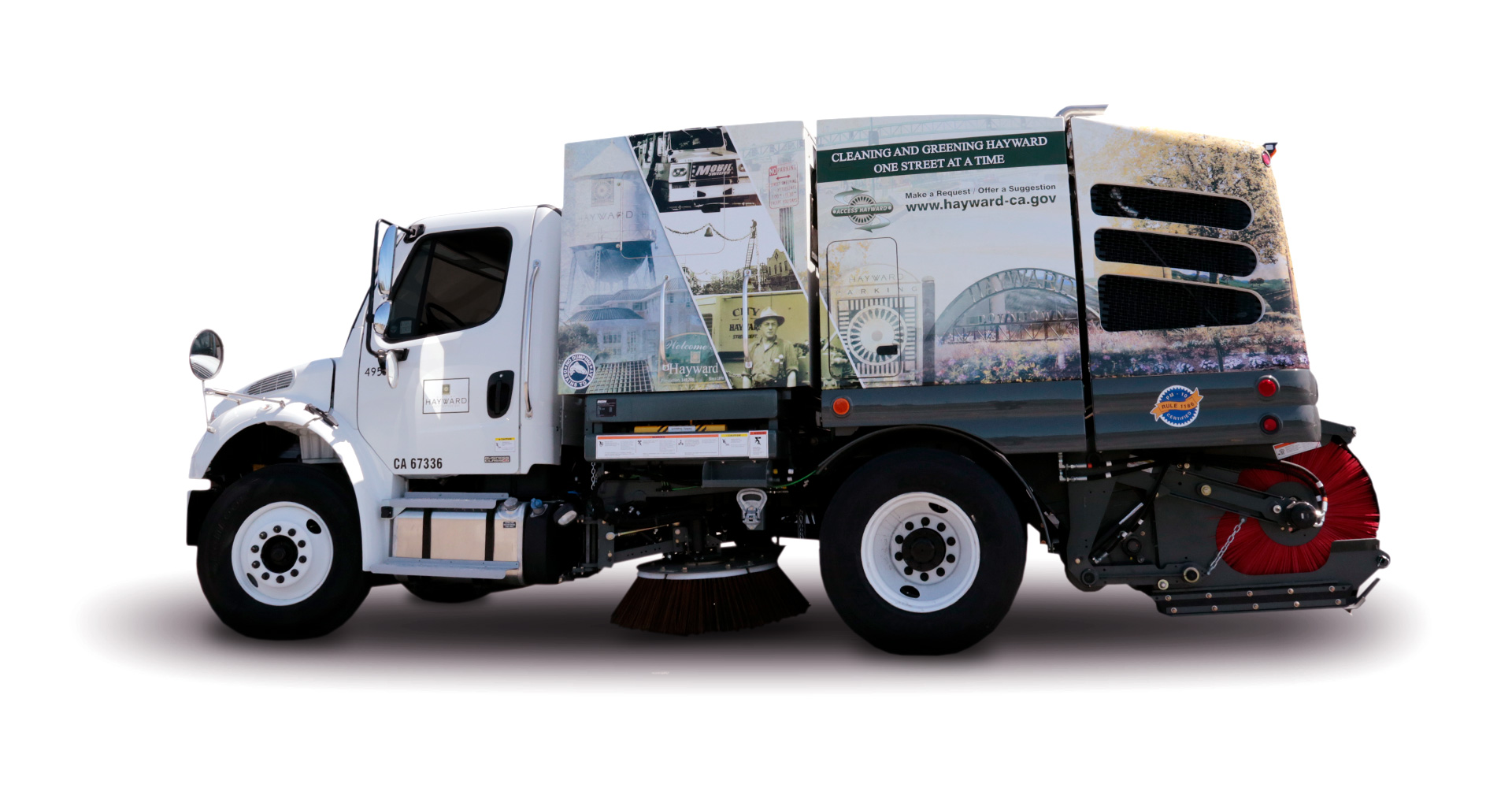 city of hayward street sweeper c